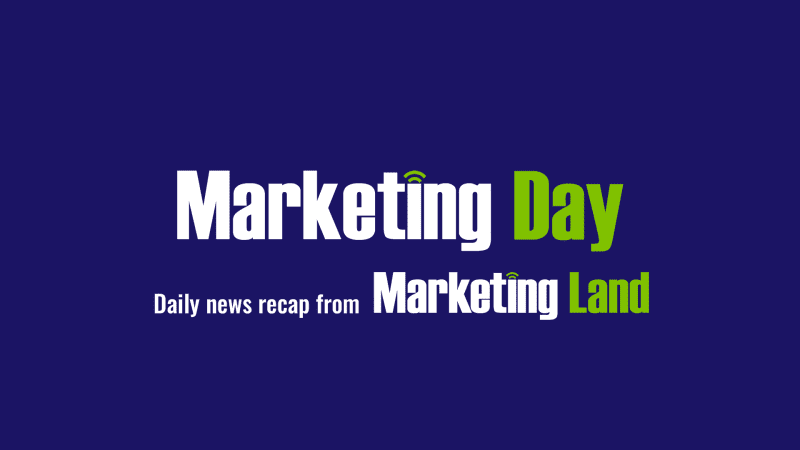 Marketing Day:  Google ads, Facebook revenue growth slows, programmatic creatives & more